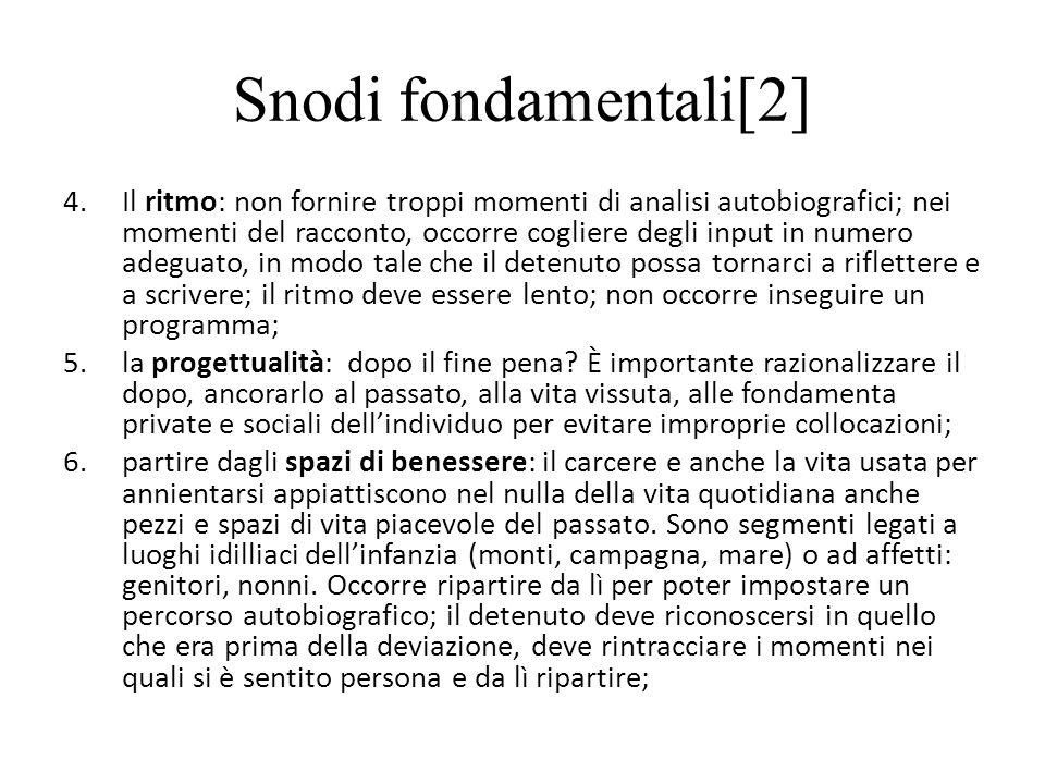Snodi fondamentali[2]
